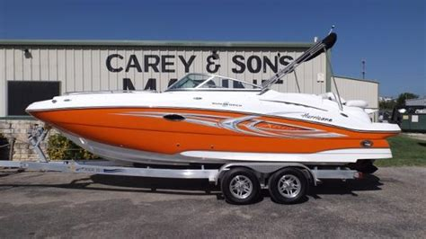 Hurricane Deck Boats For Sale Texas hurricane sun deck 2400 boats for sale in texas