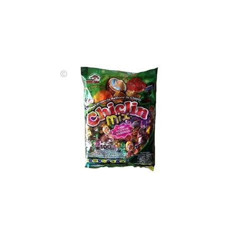 Bubble Gum Filled Candy Chiclin Mix Count