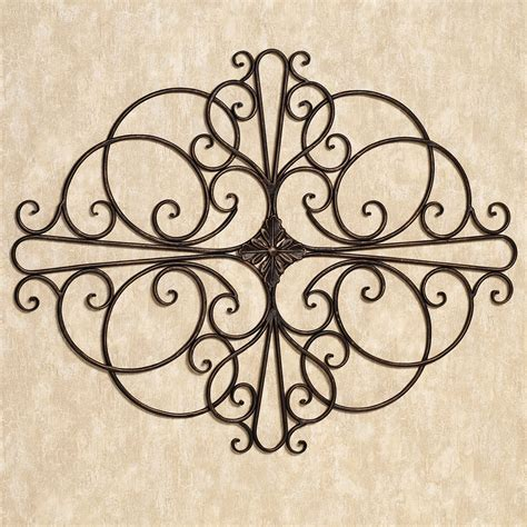 wrought iron hanging ls ideas wrought iron wall decor indoor outdoor decor