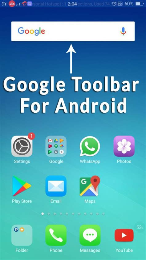 google toolbar  android google search bar  home