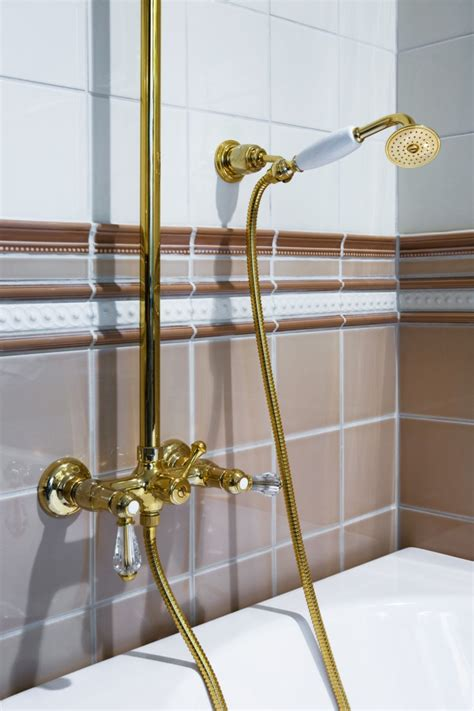 Gold Plated Bathroom Fixtures how to clean gold faucets maintaining gold plated