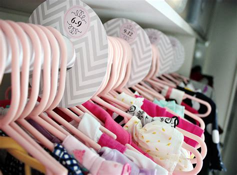 baby closet dividers organizing the baby s closet easy ideas tips
