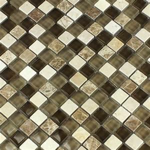 Mosaik Fliesen Beige : glas marmor mosaik fliesen braun beige ht88346m ~ Michelbontemps.com Haus und Dekorationen