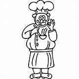 Cook Drawing Geitjes Coloring Cuoco Jonge Chef Pagina Kok Bambini Dei Kleuren Coloritura Pagine Scherza sketch template