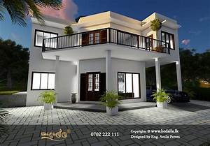 Single, Story, Architectural, House, Plans, In, Sri, Lanka, In, Small, Land