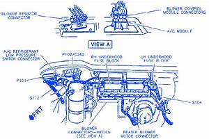 Buick Lesabre 1995 Engine Compartment Electrical Circuit Wiring Diagram