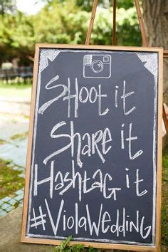 instagram wedding printables insert  hashtag
