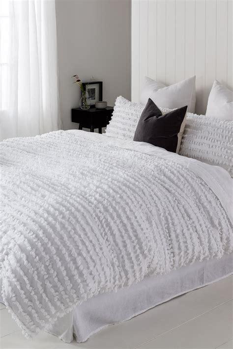 sophia textured duvet cover set  shop ezibuy