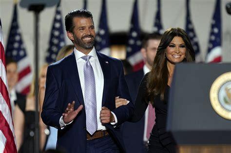 trump donald jr guilfoyle kimberly chicago girlfriend orange tower president dan convention republican court hangs state kilbride justice durbin spin