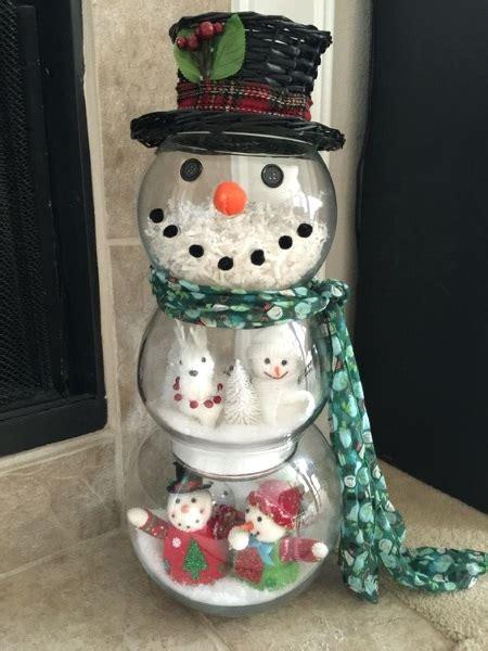 DIY Christmas Decoration Snowmen