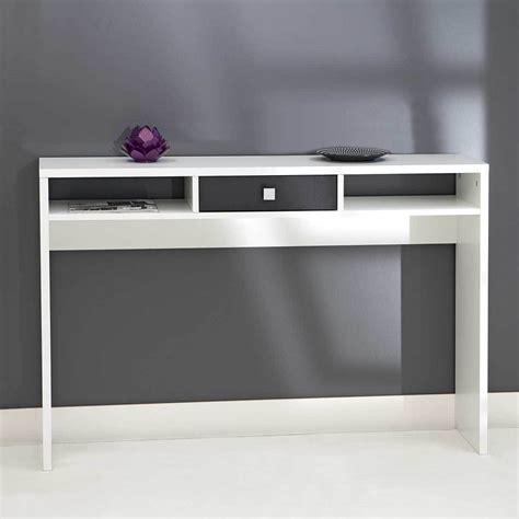 table cuisine tiroir console 1 tiroir blanc noir 2030a2176a17 achat vente console sur maginea com