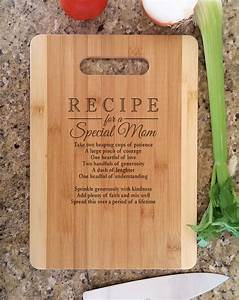 Mothers Gift Personalized Recipe for a Special Mom Custom ...