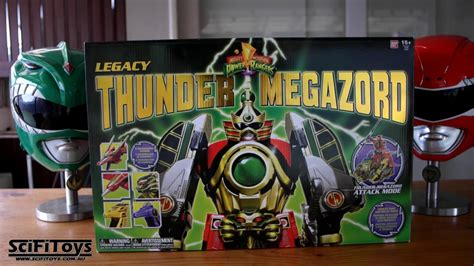 Mighty Morphin Power Rangers LEGACY THUNDER MEGAZORD ...