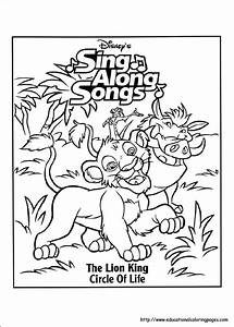 Barbie Coloring Sheets Lion King Coloring Educational Fun Kids Coloring Pages