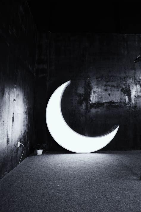 fotos gratis ligero en blanco  negro noche