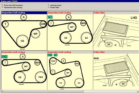 2006 Ford Focu Belt Diagram by How Do You Replace The Fan Belt In A Ford Focus Zetec