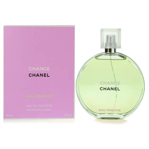 chanel chance eau fraiche eau de toilette for 3 4