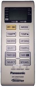 Original Panasonic Air Conditioner Remote Control A75c3755
