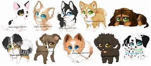 Chibi Dogs by Yechii on DeviantArt