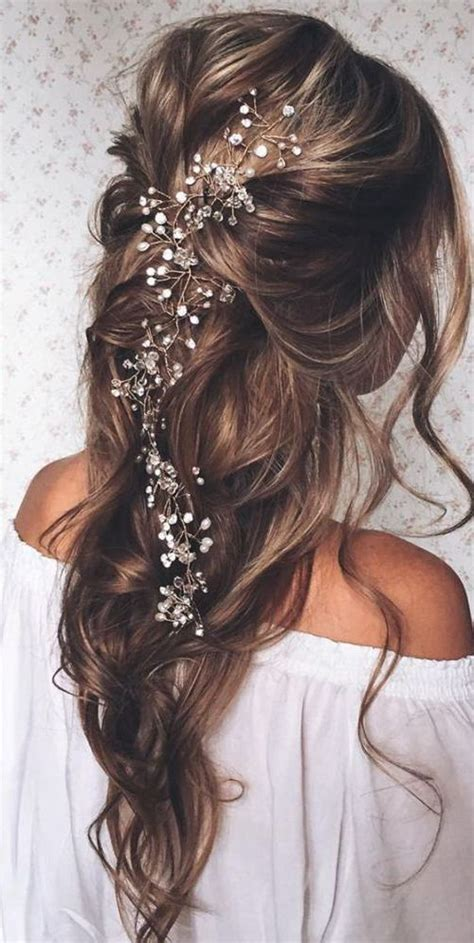 25 best ideas about long bridal hairstyles on pinterest