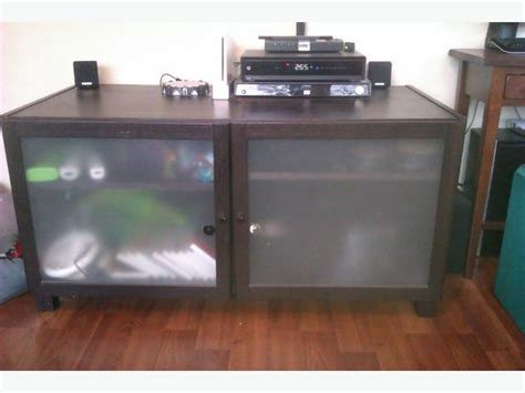 frosted glass tv cabinet reduced ikea tv stand with frosted glass doors 40
