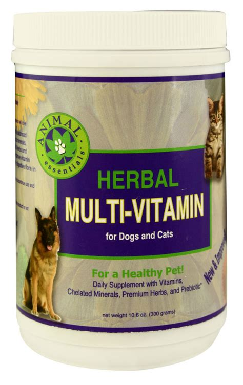 herbal multi vitamin mineral powder  dogs cats