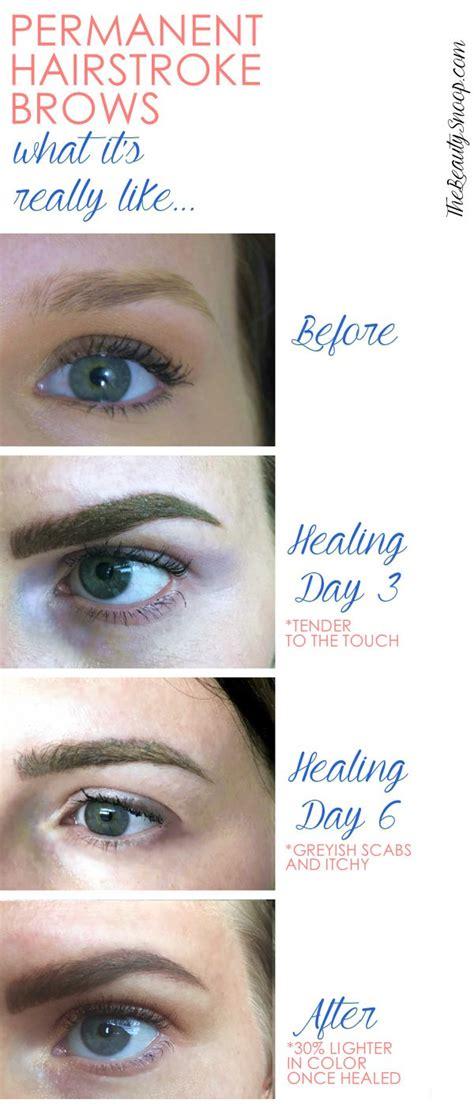 real life permanent microblade brows makeupgood face