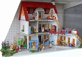 HD wallpapers maison moderne playmobil occasion ...