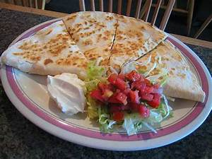 FoodChicken and Cheese Quesadillas