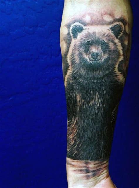 bear tattoos  men ideas  inspiration  guys