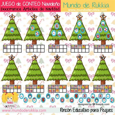 juegos de arboles de navidad juego de conteo decoramos arboles de navidad mundo de rukkia
