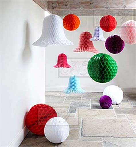 Ideas Wall Decor From Waste SaveEnlarge Paper Lanterns Honeycomb Balls For Wedding Baby Shower