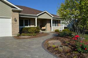 Front, Yard, Landscaping