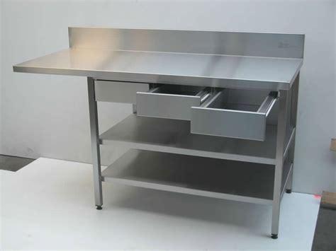 table de cuisine inox cuisine inox pour les professionnels