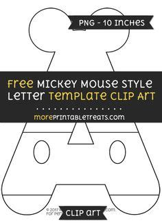 letter from mickey mouse template free mickey mouse style letter h template clipart mickey mouse printables
