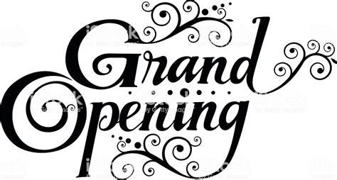 Grand Opening Stock Vector Art 486631928 Istock