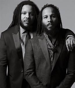 Ziggy e Stephen Marley mostram porção modelo em campanha ...