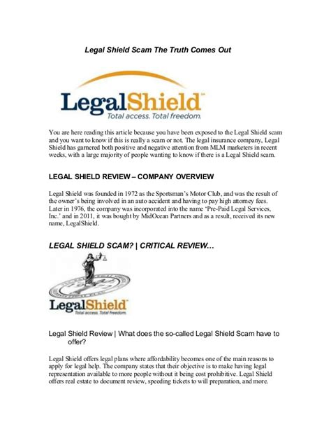 Scam shield helps block phone scams before they ever get to you. Legal shield Scam The Truth Comes Out