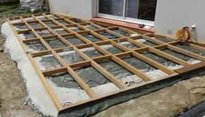 Plot Plastique Terrasse : terrasse bois conseils de pose ma terrasse en bois ~ Edinachiropracticcenter.com Idées de Décoration