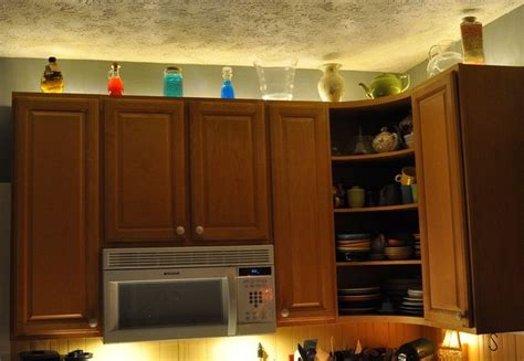 In Cabinet Lighting by 9 Astounding Rope Lights Above Cabinets In Kitchen Digital