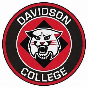 """Davidson College Logo Roundel Mat - 27"""""""