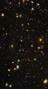 Hubble Deep Field Percentage Sky - Pics about space