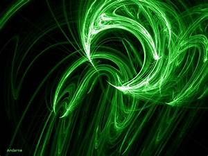 Green Flame Wallpaper