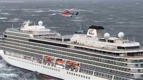 Stranded Norway Cruise Ship Passengers Evacuated From Mv