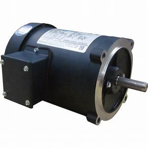 Leeson General Purpose Electric Motor  U2014 1  2 Hp  1 725 Rpm