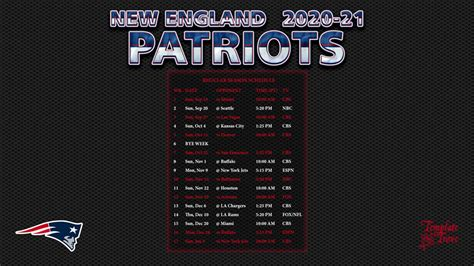 england patriots wallpaper schedule