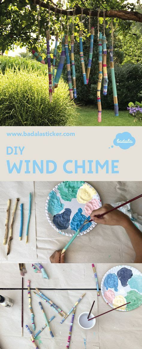 ein windspiel selbst gemacht windspiele windspiele diy