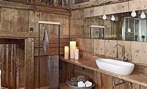 Holz Für Badezimmer : rustikales interior design f r badezimmer holz freshouse ~ Frokenaadalensverden.com Haus und Dekorationen