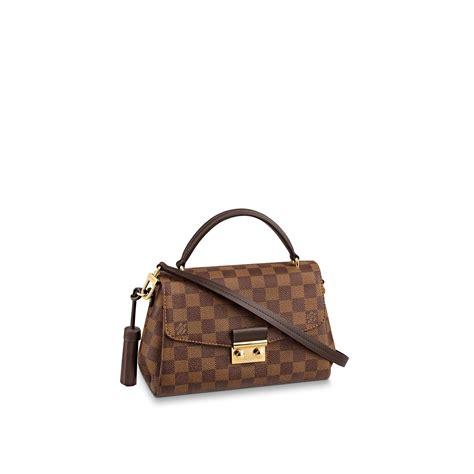 croisette damier ebene canvas handbags louis vuitton