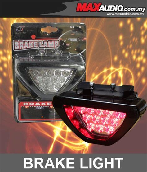 brake light inspection cost new f1 style triangle 12 red led fla end 3 1 2018 12 00 am